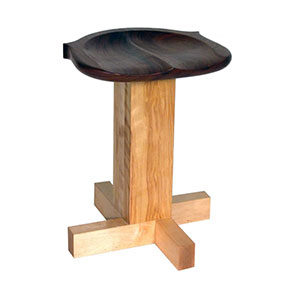 Windsor Seat Adjustable Stool