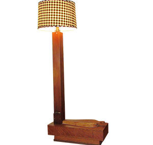 Organ Pipe & Bellows Lamp