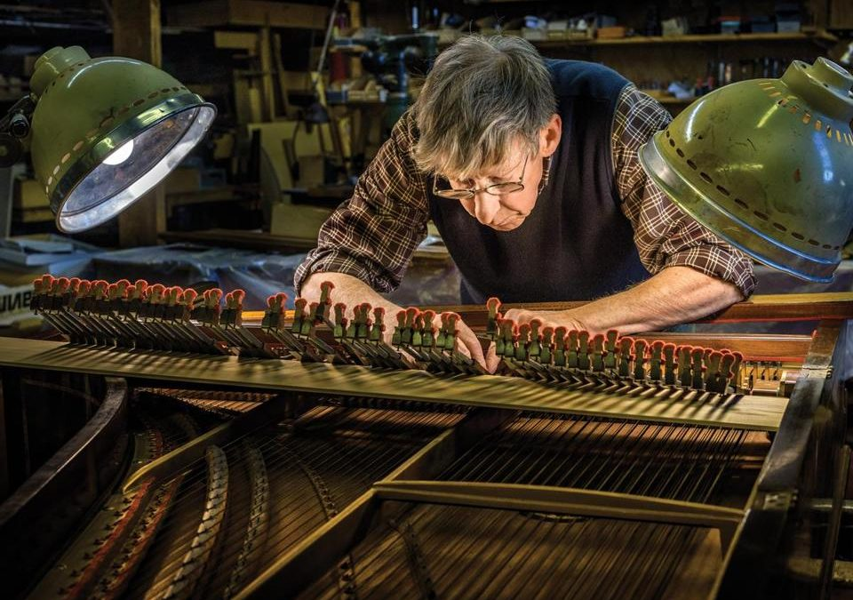 Boston Globe, January 13, 2017. For this craftsman, there is more to instruments than the sound